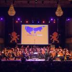 Stroom, Stroom Events, Muziekfestival, Philharmonie, Haarlem, 25-jarig regeringsjubileum koningin Beatrix, koningin Beatrix, provincie Noord-Holland, provincie Zuid-Holland, Creatief producent